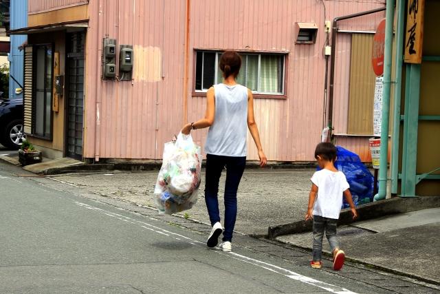 文京区のゴミ出し