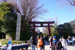 2018根津神社初詣