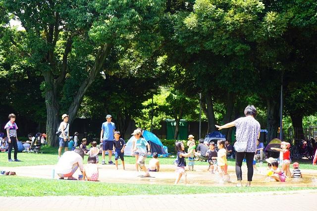 目白台運動公園|水遊びができるおススメの公園